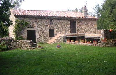 Le moulin des Rioux à Boffres 07440