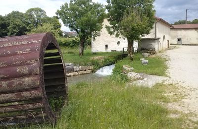Le moulin Barraud à St-Julien 39320