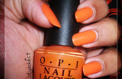Challenge : couleur orange