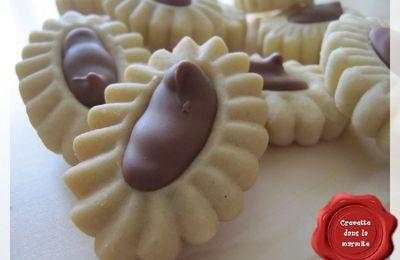 Sablés au chocolat praliné