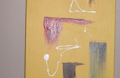 TABLEAU n° 85 /100 x 30 cm