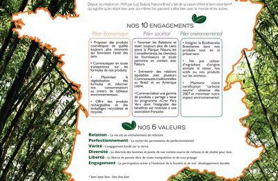 la Charte des valeurs et engagements de Natura Brasil !