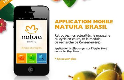 NATURA sur Iphone !!