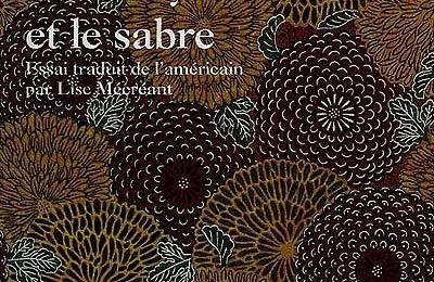 [Livre] Le Chrysanthème et le sabre