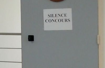 Silence, Concours