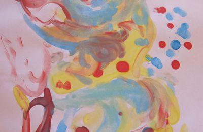 multicolor crochet et dessins