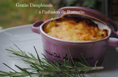 Gratin Dauphinois à l'infusion de Romarin.