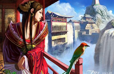 Fantasy Art Asiatique