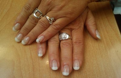 Ongles Gels + strass