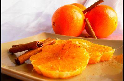 Salade d'orange à la canelle
