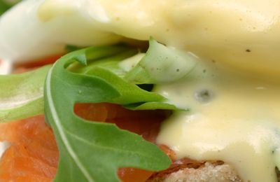 """We ♥ Brunch"" : Salmon Eggs Benedict comme là-bas"