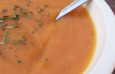 Pumpkin Soup (ou soupe de potiron) by my Bicounette
