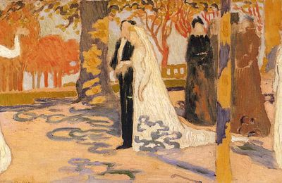 Wedding procession (Maurice Denis)