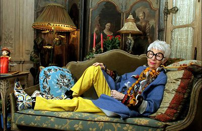 Iris Apfel, son appartement excentrique à New-York