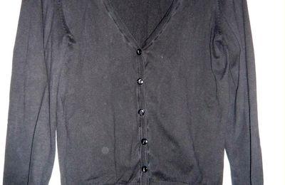 Gilet H&M noir - Taille L