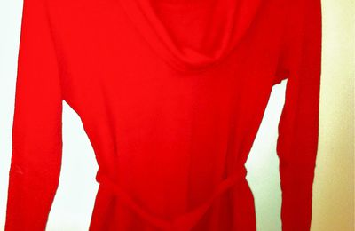 Pull rouge La City Taille 38