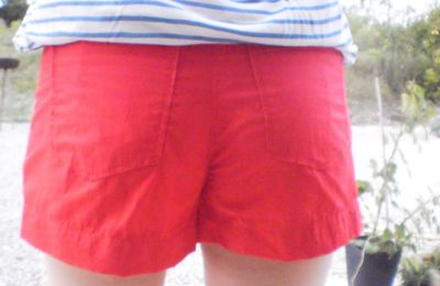 short rouge burda juin 2011