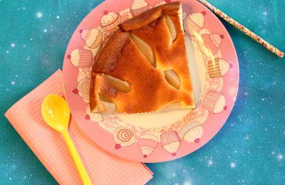 Gâteau yaourt grec & poire