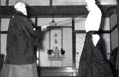 Aikido and bayonet