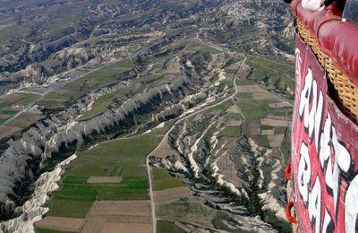 13 - La Cappadoce en prenant de la hauteur