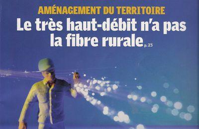 Le très haut-débit n'a pas la fibre rurale