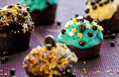 Mes cupcakes très Jacques !!!