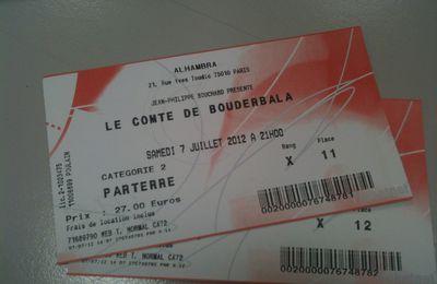Le Comte de Bouderbala...