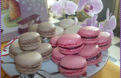 Mes beaux macarons !