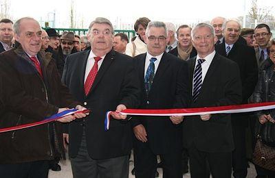 Chazay d'Azergues : inauguration de la salle des sports