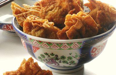 Raviolis Frits Chinois au Porc et à la Crevette