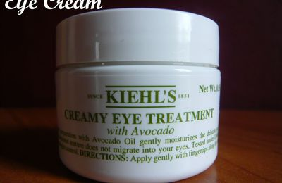 Eye Cream Kielh's avocado :)