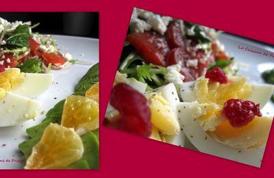 Salade composée Sucrée Salée