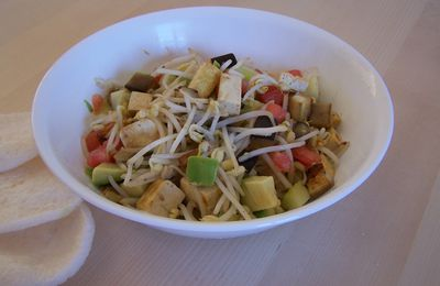 Asian flavors salad