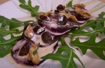 Beets salad and Walnuts