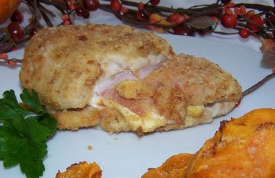 Cordon bleu homemade