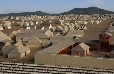 Visite virtuelle de l'oppidum gaulois de Corent (Puy de Dôme)