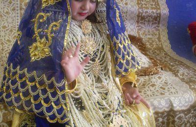 Chedda bleue et dorée avec constantinoise.
