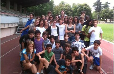 SECTION ATHLETISME : Bravo et Merci !