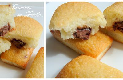 Financiers au Nutella...
