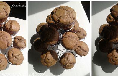 Muffins au praliné...
