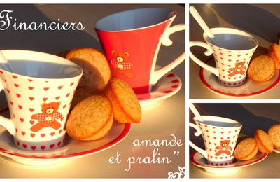 Financiers amande et pralin...
