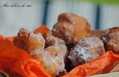Fritelles ,beignet du carnaval de Venise .
