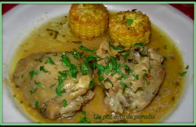 Poulet à l'orange & herbes fraîches by Pepitavignon. !! ..