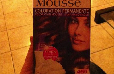 Essaie Perfect mousse (coloration)