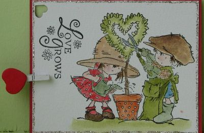 Carterie Artisanale - Mini cartes à bouquets