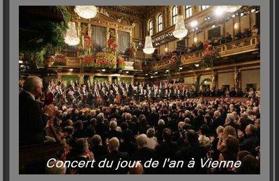 Concert du Jour de l'An à Vienne