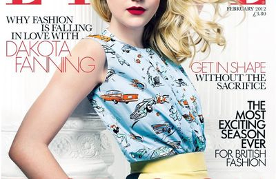 Sister Fanning - Teen Vogue and Elle Magazine UK February 2012 Issue COVER!