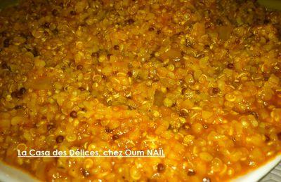 Mélange Gourmand, Quinoa Blanc, Quinoa Rouge et Boulgour à la Tomate