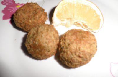 Falafels ou Croquettes de Pois Chiches