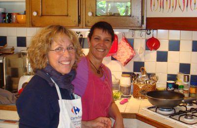Les Ateliers Pratique de Cuisine continuent...malgré une pause sur le site
